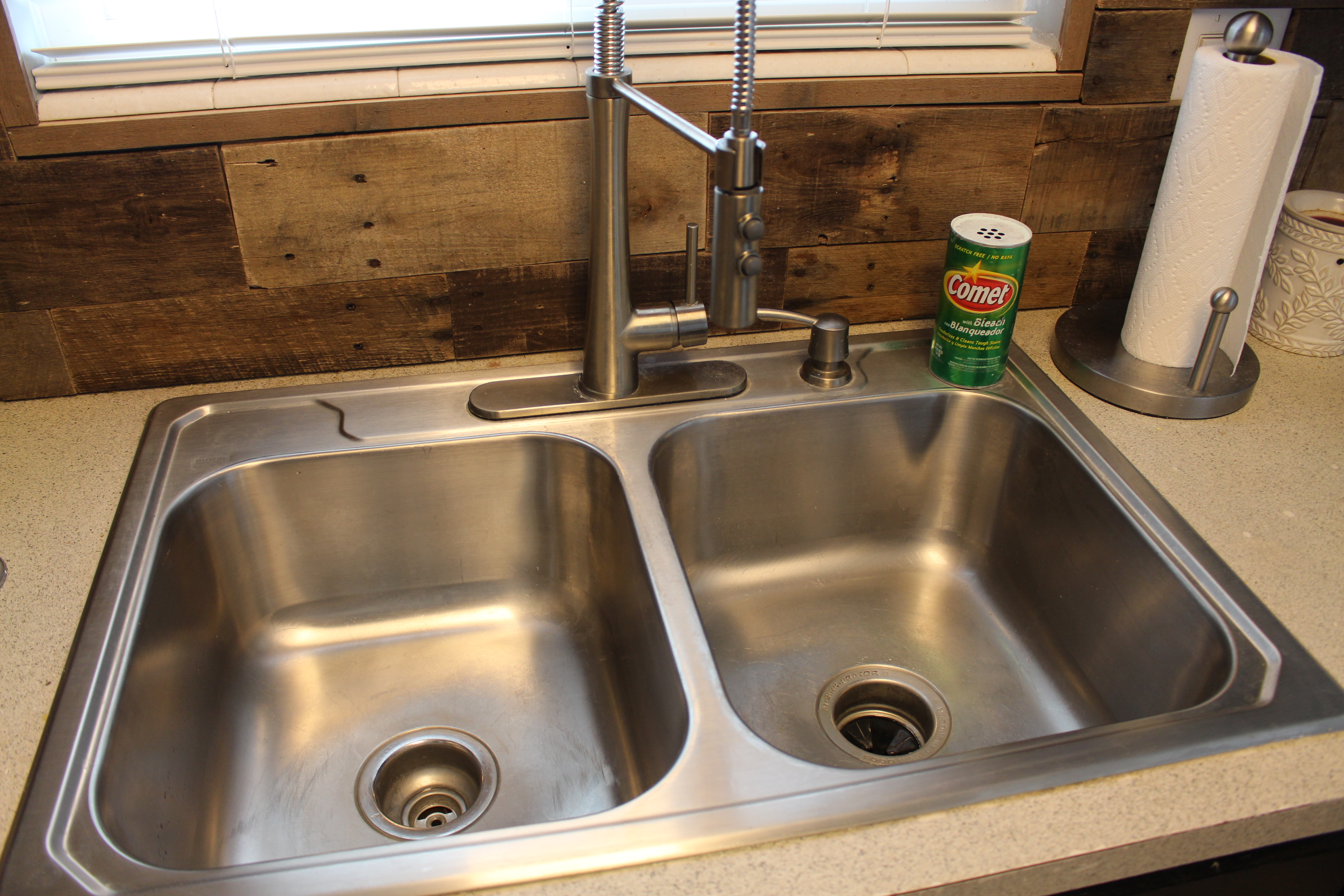 go to bed with a clean kitchen sink simply house to home