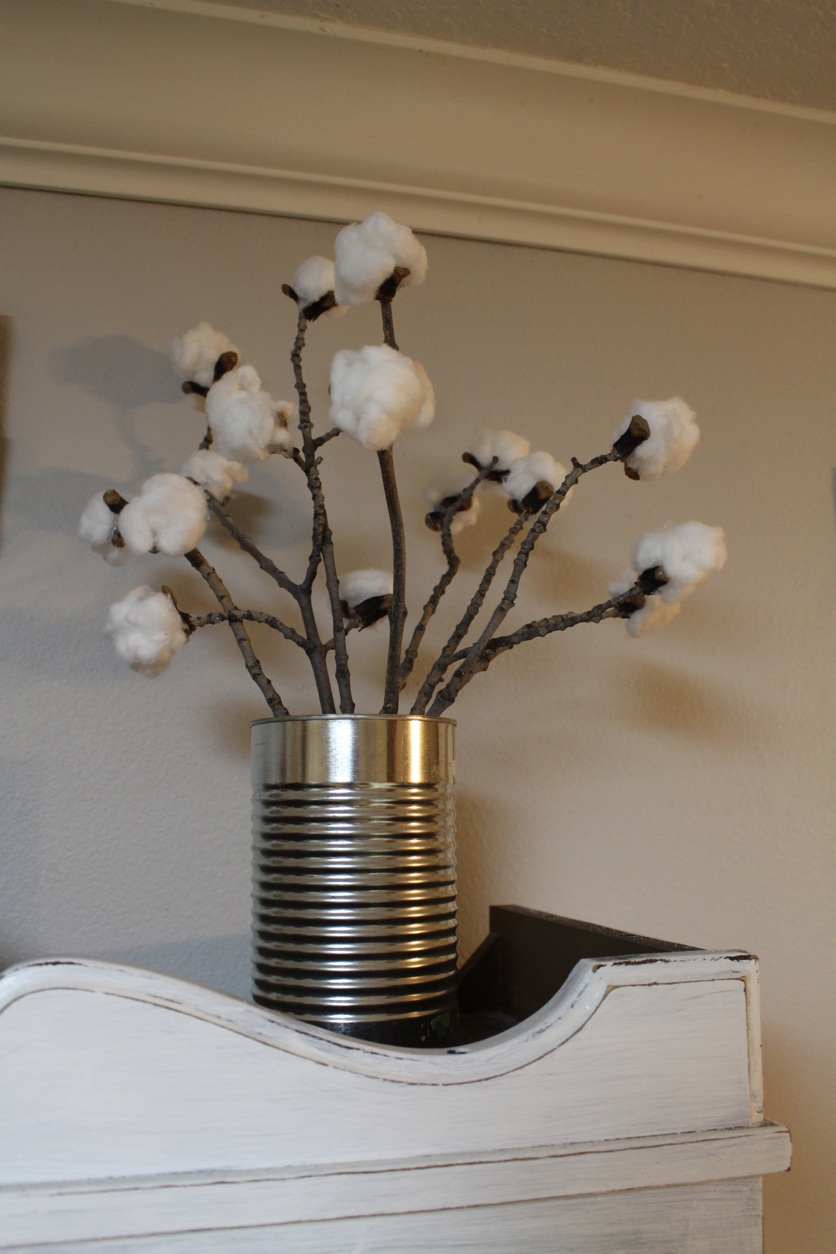Diy Cotton Stems Simply House To Home
